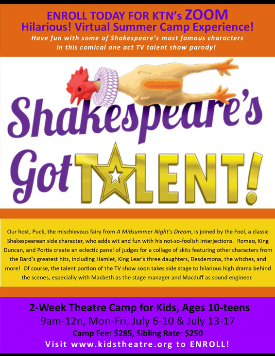 Shakespeare's Got Talent